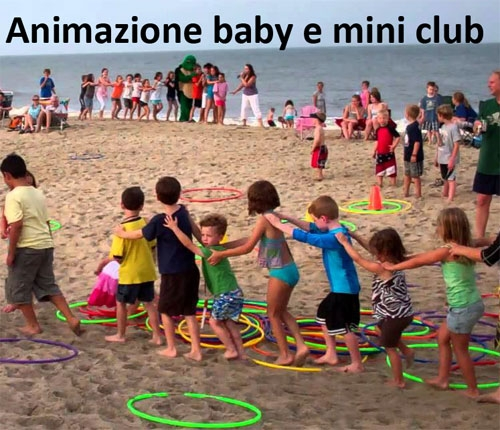 animatori per bambini,istruttori sportivi,fonici,assistenti bagnanti ecc.