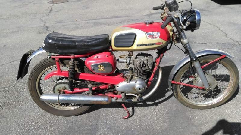 Moto Morini 125 Super Sport , 5 marce