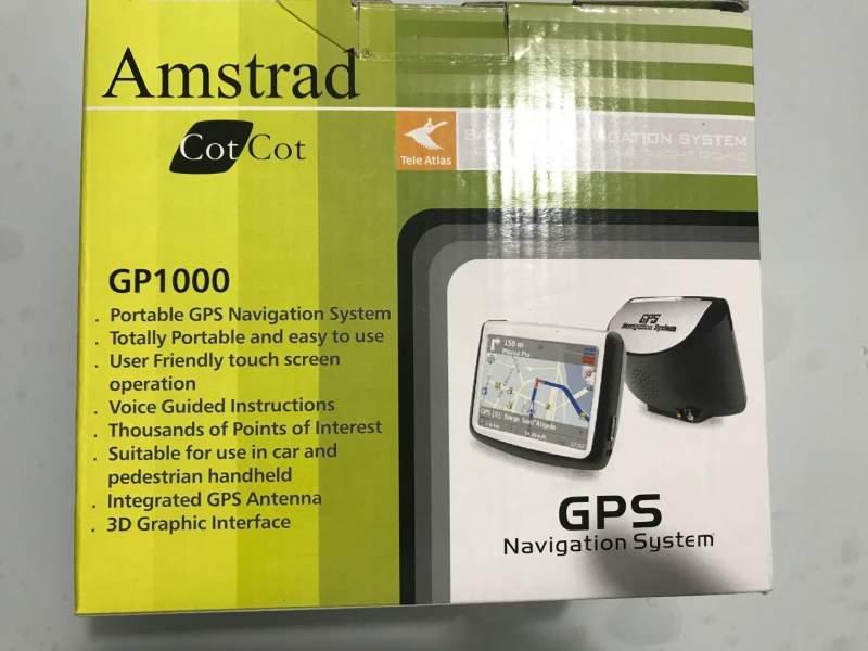 Navigatore auto/moto amstrad gp 1000