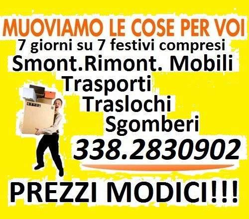 Roma Traslochi Trasporti e Sgomberi eseguiamo ovunque a prezzi economici 7gg su7