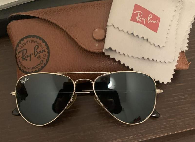 Rayban aviator originali occhiali!
