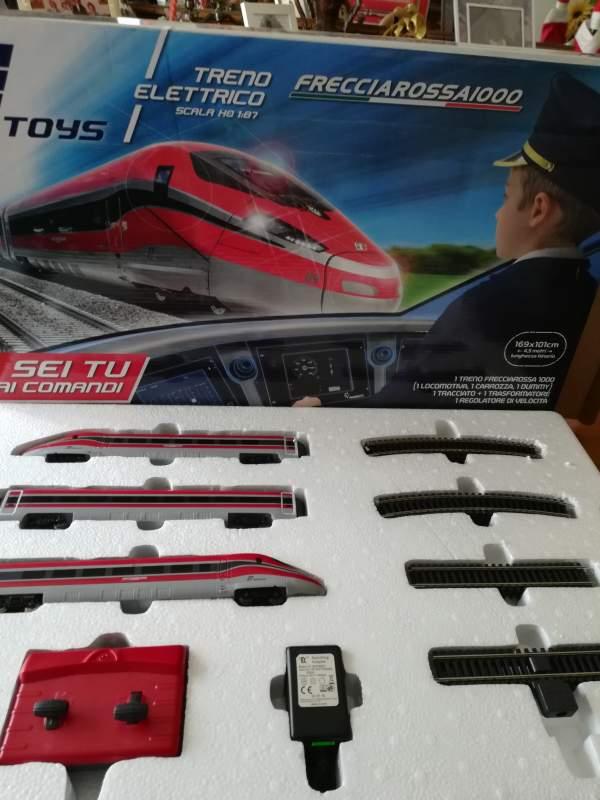 Trenino Elettrico Freccia Rossa
