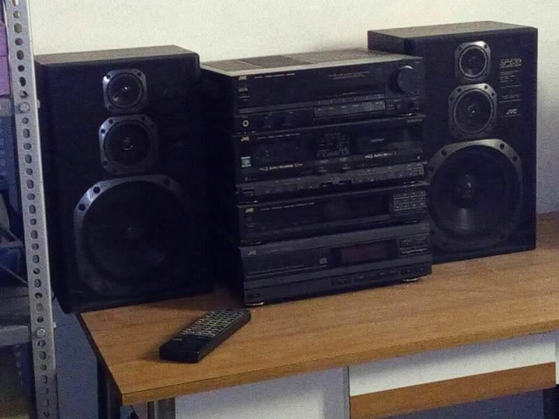 Impianto stereo jvc