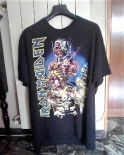 T-shirt iron maiden taglia xl