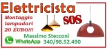 CAMBIO LAMPADARIO E PLAFONIERA CON 20 EURO