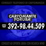 1 CONSULTO TELEFONICO DI CARTOMANZIA CON IL CARTOMANTE YORUBA' - CONSULTO TELEFONICO