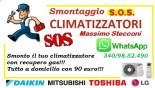 SMONTAGGIO CONDIZIONATORE PRENESTINO CENTOCELLE ROMA
