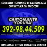 | 1 consulto telefonico di Cartomanzia con il Cartomante YORUBA' | Consulto con offerta libera |