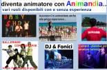 animatori turistici vari ruoli anche prima esperienza