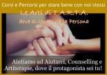 Come imparare ad aiutarci: incontri di Counselling e Artiterapie